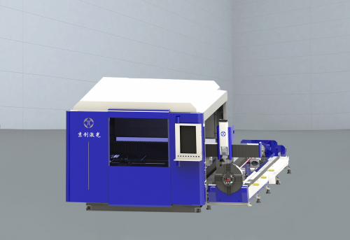 JC-HFC系列交换平台-板管一体光纤激光切割机