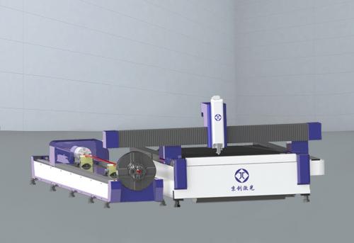 JC-HFC系列単平台-板管一体光纤激光切割机